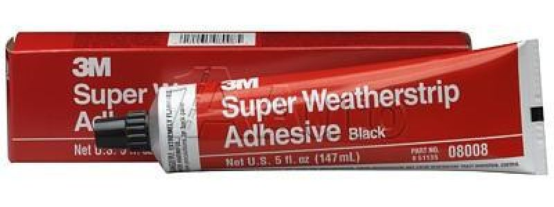 M Black Adhesive Weather Strip West Marine