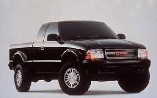 the gmc s 15 sonoma and gmc s 10 are compact pickup trucks produced by ...